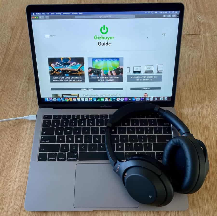Connecting Sony Wh 1000xm3 Headphones To Mac Catalina Step By Step Gizbuyer Guide