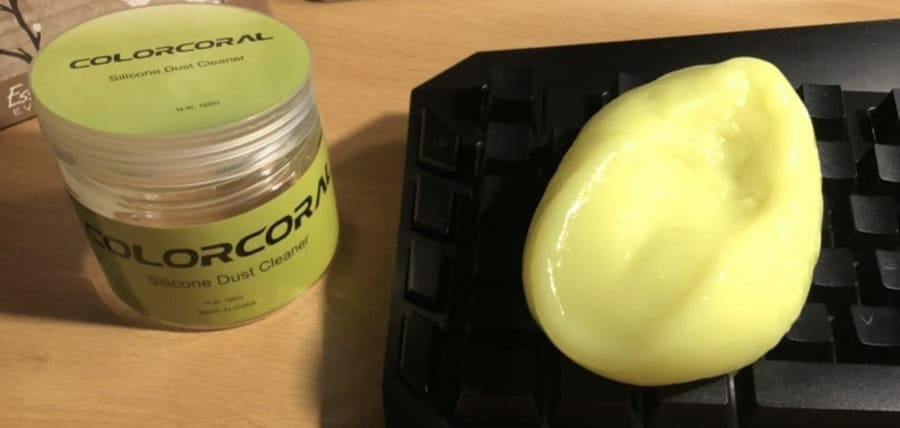 recommended tech friendly cleaning putty